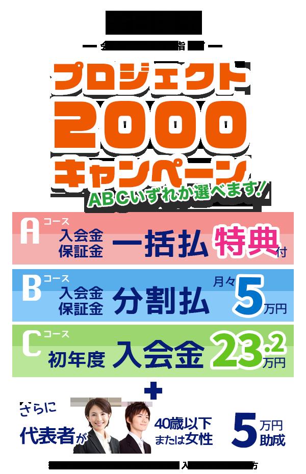 プロジェクト2000キャンペーン